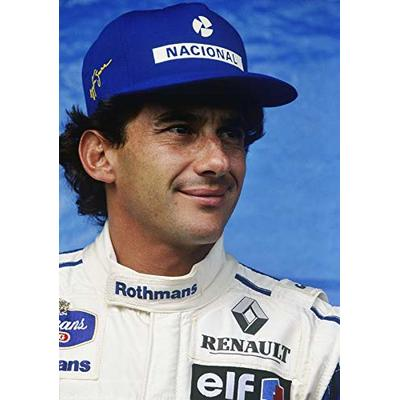 AYRTON SENNA WILLIAMS F1 RACING POSTER 10780 (A3-A4-A5)