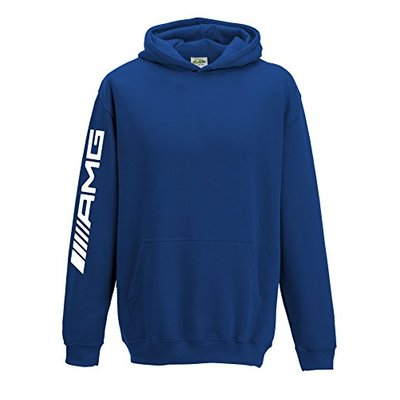 Mercedes AMG Kids Hoodie F1 Hamilton Hood 1339 Blue, 3-4 Years
