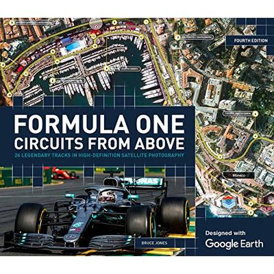 Formula One Circuits From Above by Bruce Jones Book The Cheap Fast Free Post
