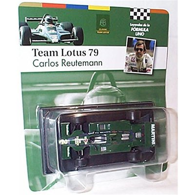 atlas editions F1 collection team lotus 79 carlos reutemann 1979 racing car 1.43 scale diecast model