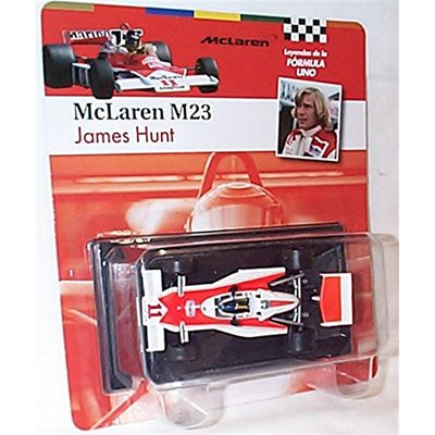 atlas editions F1 collection mclaren M23 james hunt 1976 racing car 1.43 scale diecast model