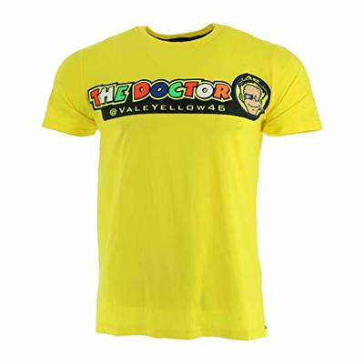 Valentino Rossi VR46 Moto GP The Doctor Yellow T-shirt Official 2018
