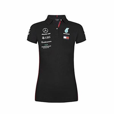 MAMGP 2019 Mercedes-AMG F1 Formula One Ladies Team Polo Shirt for Women and Girls Official Genuine Merchandise