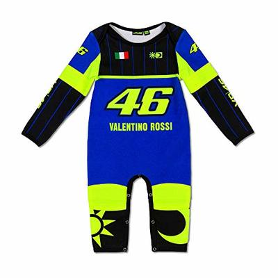 VR46 Valentino Rossi Yamaha Racing Babies Overall – Black, Blue (12 Months)