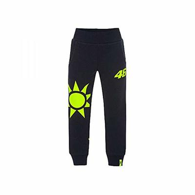 Valentino Rossi VRKPA353202002 Unisex Sun and Moon Pants Blue, 10/11 Years