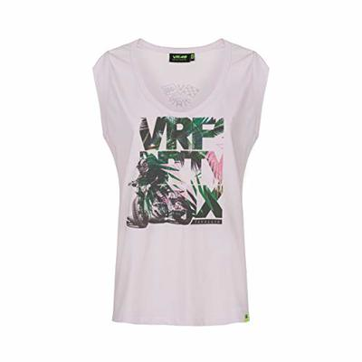 Valentino Rossi Vr46 Lifestyle Collection, Women's T-Shirt, Womens, T-Shirt, TSHIRTLIFVR4, Pink, M