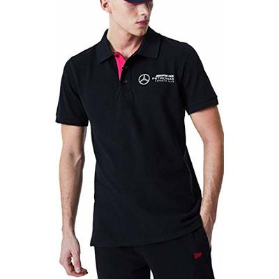 New Era Mercedes AMG Petronas E-Sports Polo Top (X-Large) Black