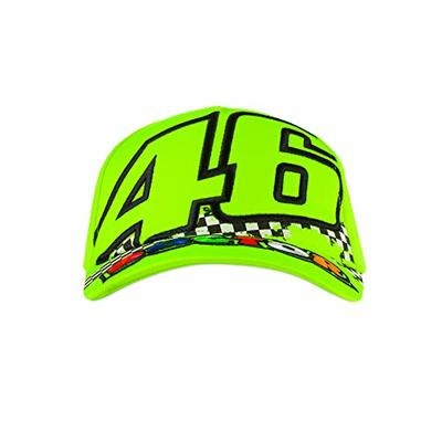 Valentino Rossi Kids Cap Doctor Distressed VR46 MotoGP Yellow Official 2020
