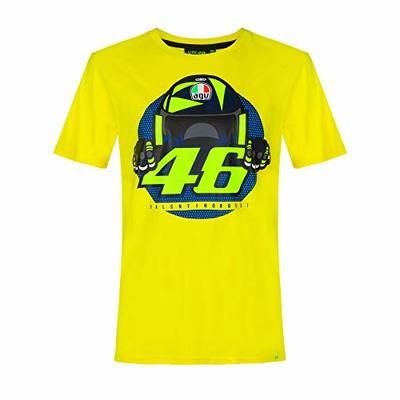 Valentino Rossi T-shirt VR46 MotoGP Cupolino Yellow Official 2020