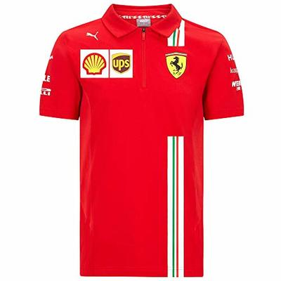 2020 Scuderia Ferrari F1 Team T-Shirts Vettel Leclerc in Mens Ladies Kids Sizes