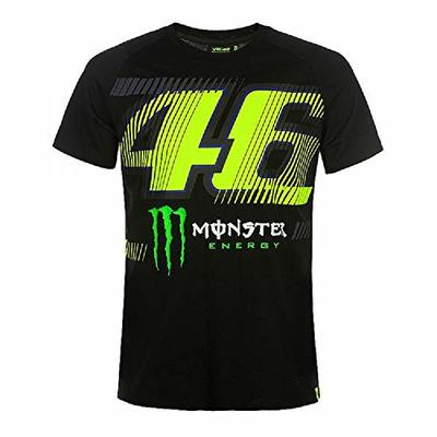 Vr46 Monza 46, Men's T-Shirt, Black, L