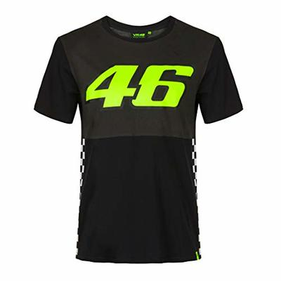 Valentino Rossi – Vr46 Classic Collection, Men's T-Shirt, Mens, T-Shirt, TSHIRTVR46MM, Multi-Coloured, XS
