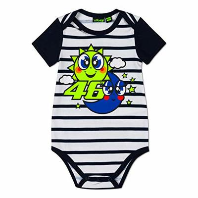 Valentino Rossi Baby Body VR46 MotoGP Sun & Moon Stripes Official 2020