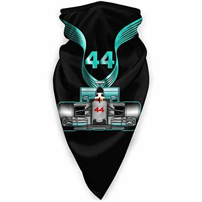 Emonye Balaclava Windproof Face Mask Racing Driver Champio Lewis Hamilton 44 Bandanas Protection Face Anti Dust Pollution Neck Gaiter Outdoor