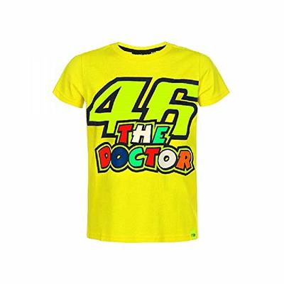 Valentino Rossi VRKTS353401004, T-Shirt 46 The Doctor Baby Unisex, Yellow, 4/5 Years