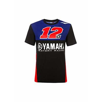 Valentino Rossi Men's Yamaha Vinales-Racing T-Shirt, Royal Blue, M