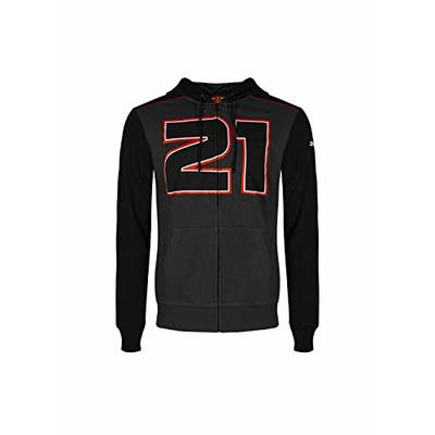 Valentino Rossi Troy Bayliss, Men's 21 Ducati Corse Sweatshirt, Grey/Black, XXL