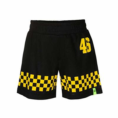 Valentino Rossi Vr46 Classic Collection Boys Shorts, Boys, Shorts, SHORTVR46CBB, Black, 10/11