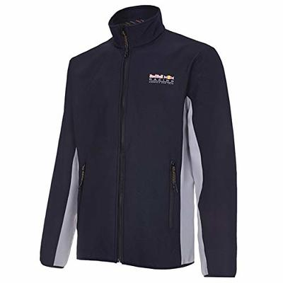 Red Bull Rbr Fw Men Softshell Fleece Jacket, Blue, F1 Red Bull Racing Teamline