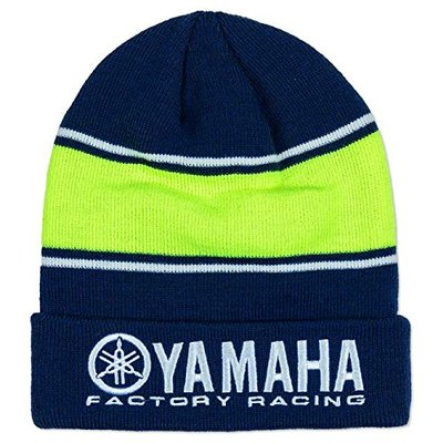 Valentino Rossi VR46 Moto GP M1 Yamaha Factory Racing Team Beanie Official 2019