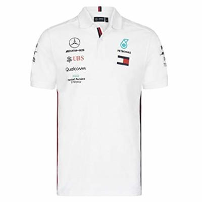 Official Formula 1 Merchandise – Mercedes-AMG Petronas Motorsport 2019 F1™ – Team Polo Shirt – White – XS