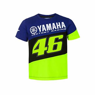 Valentino Rossi Yamaha Dual Collection, Boys T-Shirt, boys, Royal Blue, 5/6