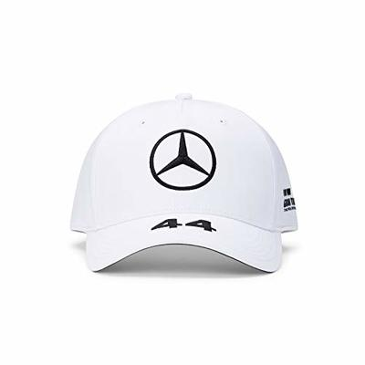 Mercedes-Benz Unisex_Adult Mercedes AMG Petronas Lewis BB Cap Baseball, White, One Size
