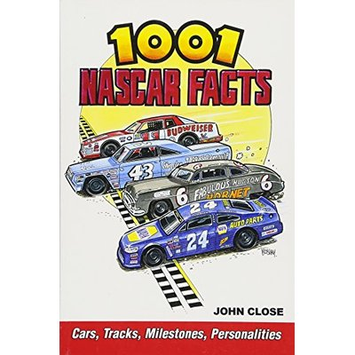 1001 Nascar Facts Cars Tracks Milestones Personalities Petty Allison Earnhardt