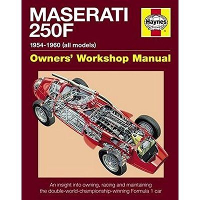 By Ian Wagstaff Maserati 250F Manual: An insight into owning, racing and maintaining the double-world-championship-winning Formula 1 car (Haynes Owners Workshop Manuals)