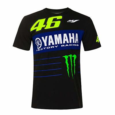 Valentino Rossi Yamaha Monster 46 Men's T-Shirt, Black, S