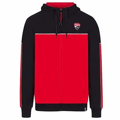 Ducati Corse 2020 Racing Team Mens Hoodie Hoody Jacket Official MotoGP