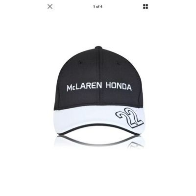 CAP Kids Formula One 1 McLaren Honda F1 NEW 2015 Children Button Team Cap MP4-30