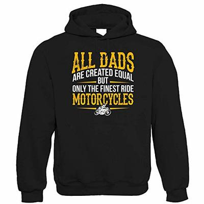 Finest Dads Ride Motorcycles Mens Biker Hoodies – Fathers Day Birthday Gift Dad