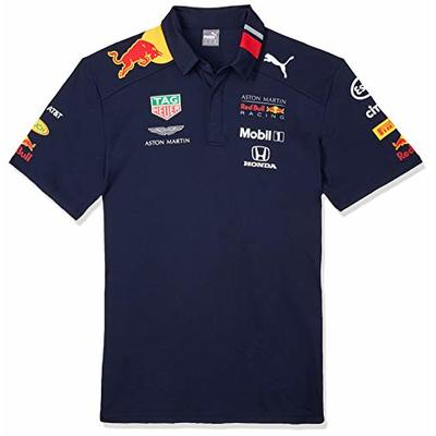 Red Bull Racing Men's Aston Martin Team Polo 2019, XL Shirt, Blue (Navy Navy), X-Large