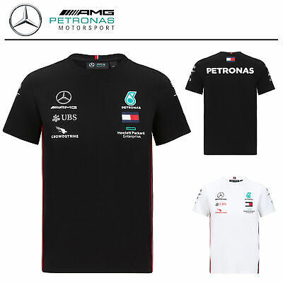 Official 2020 Mercedes-AMG F1 Team Kids Childrens T-Shirt Lewis Hamilton Tee
