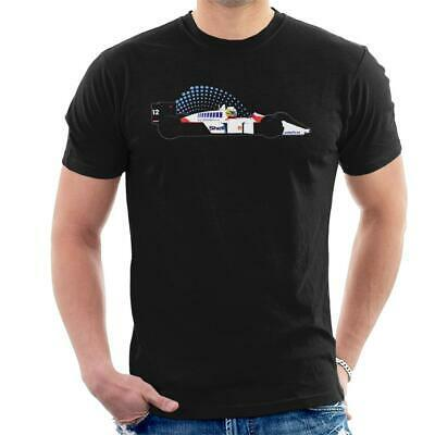 McLaren MP4 4 Ayrton Senna Men's T-Shirt