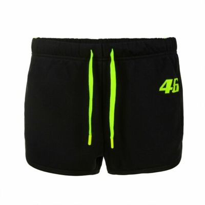 VR46 Official Valentino Rossi Tapes Design Ladies Shorts
