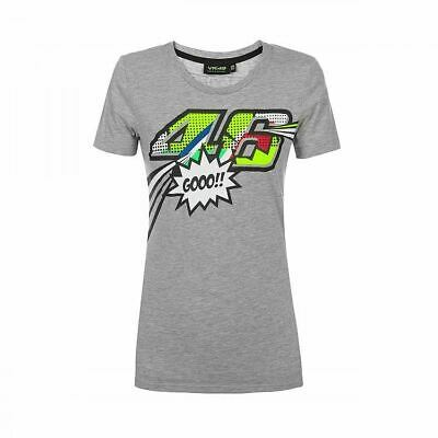 Valentino Rossi VR46 Moto GP Pop Art The Doctor Women's T-shirt Official