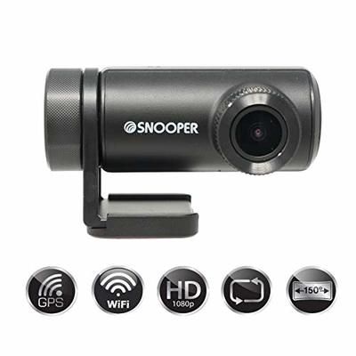 Snooper DVR-WF1 1080p HD Dash Cam with GPS and Wifi
