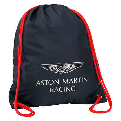 Sale! Aston Martin Racing Team Pull String Carry Bag for Sport/Gym/Swim