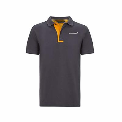 McLaren Official Formula 1 Merchandise 2020 Collection – Essential Polo – Mens – Anthracite – Size S