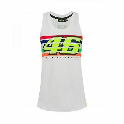 Valentino Rossi VR46 MotoGP The Doctor Stripes Women's Tank Top Official 2021