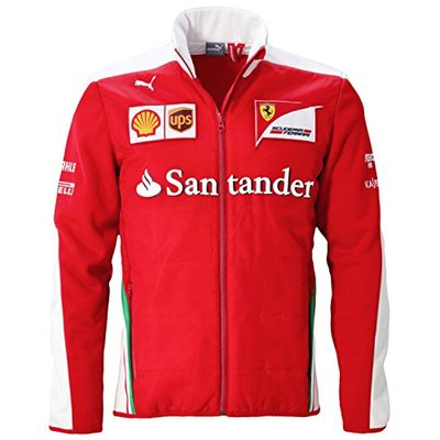 FERRARI F1 Men's Soft Shell Jacket Red red Size:L