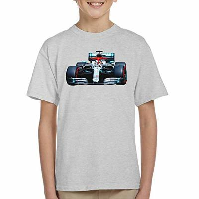 Motorsport Images Lewis Hamilton AMG F1 W10 Monte Carlo Kid's T-Shirt Heather Grey