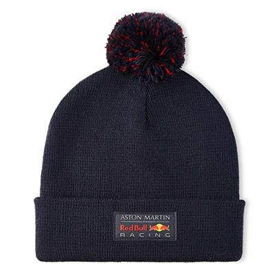 Fuel For Fans Unisex Formula 1 Aston Martin Red Bull Racing Logo Beanie, Navy, One Size