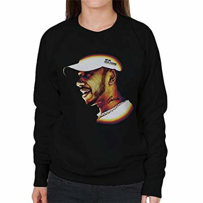 Motorsport Images Lewis Hamilton Speech at 2019 Canadian GP Women's Sweatshirt Black