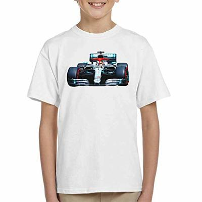 Motorsport Images Lewis Hamilton AMG F1 W10 Monte Carlo Kid's T-Shirt White