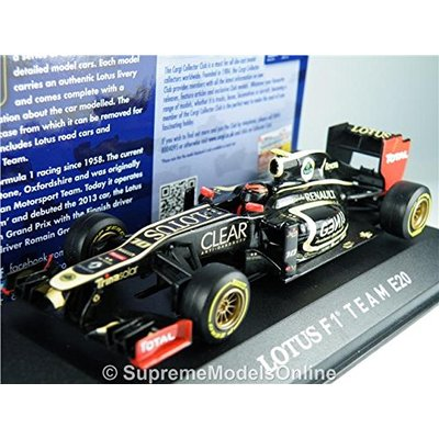 Lotus F1 Team Romain Grosjean Model Car 1/43Rd Size 2012 Race Version R0154X