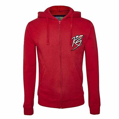 Kevin Schwantz MotoGP Legend 34 Mens Hoody Sweatshirt Red S