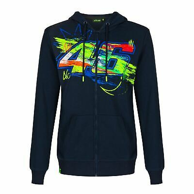 Valentino Rossi  Hoodie VR46 MotoGP Winter Test Blue Official 2021